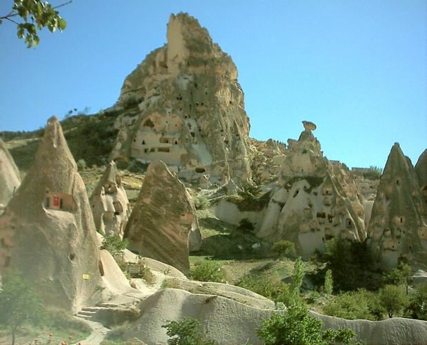 Capadocia, imagen de WikiCommons