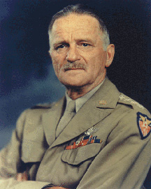 Carl Spaatz, Air Force photo portrait, color
