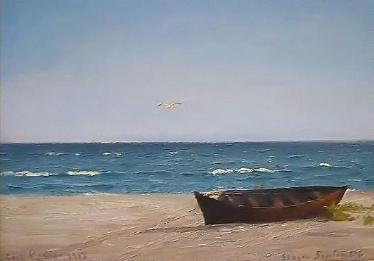 Carl locher skagen september 1913