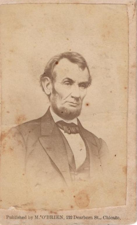 FileCarte De Visite Of President Abraham Lincoln