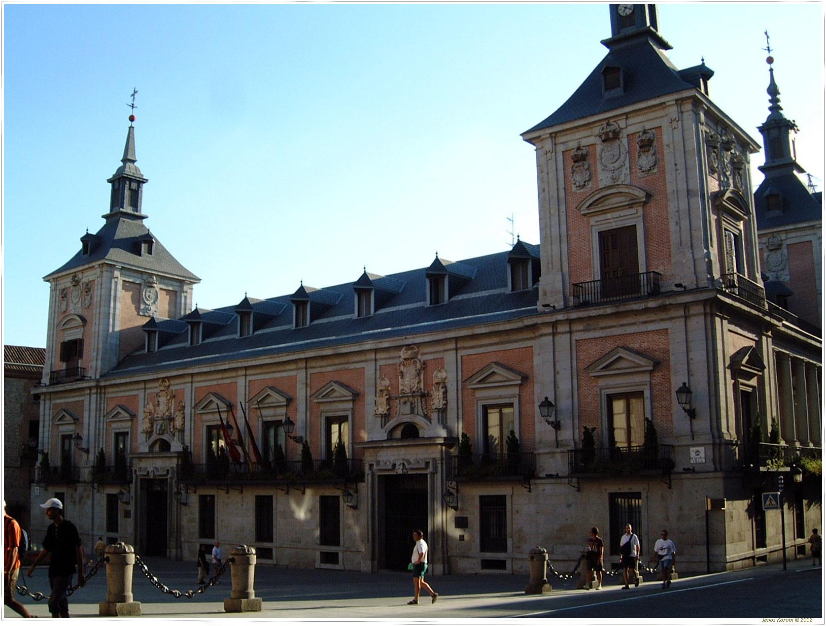 File casa de la villa madrid wikimedia commons - Casa de labranza madrid ...