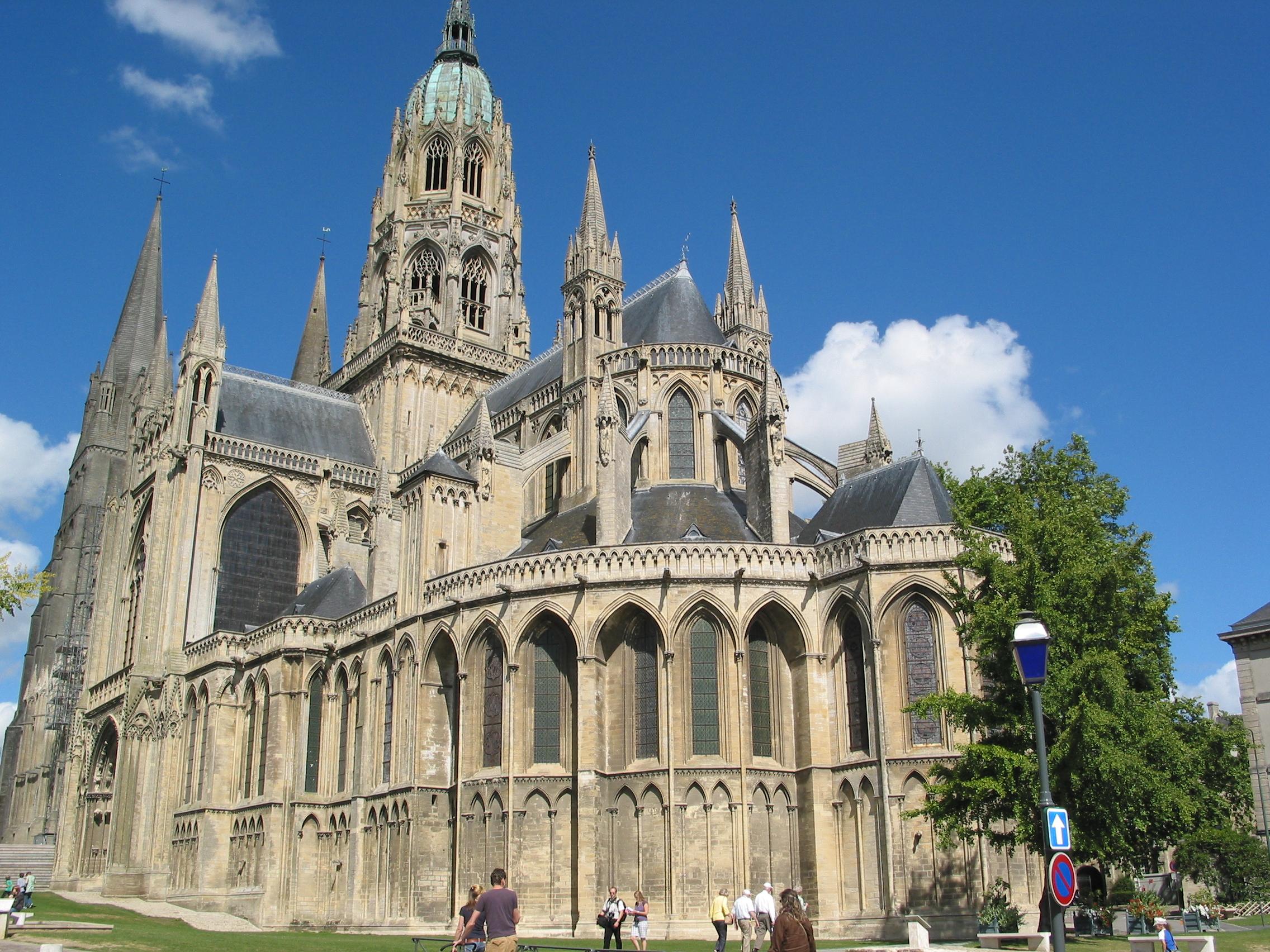 Bayeux France  City pictures : ... :Cathédrale Notre Dame de Bayeux, France 02 Wikimedia Commons