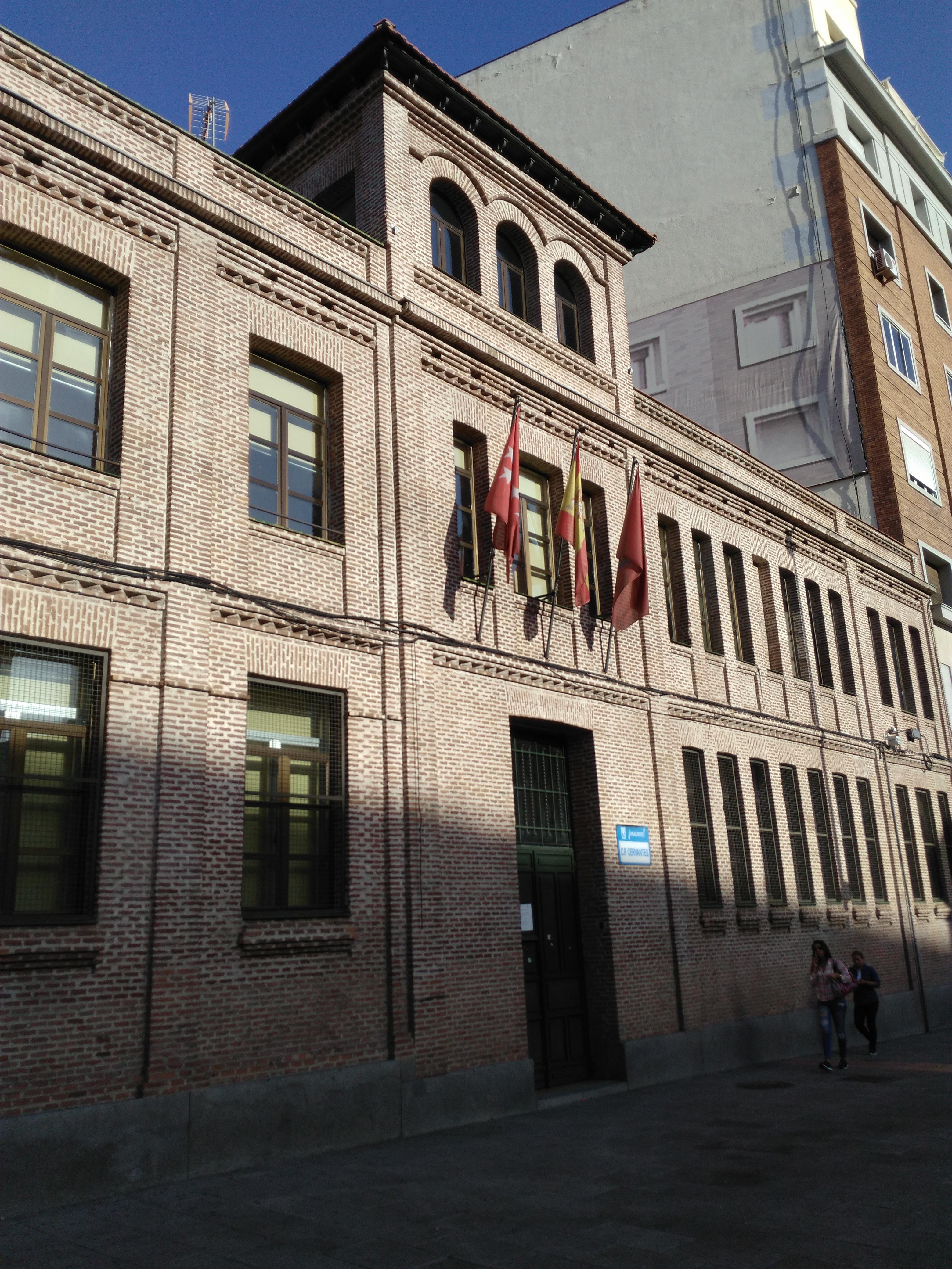 File colegio cervantes calle de santa engracia madrid - Colegio escolapias madrid ...