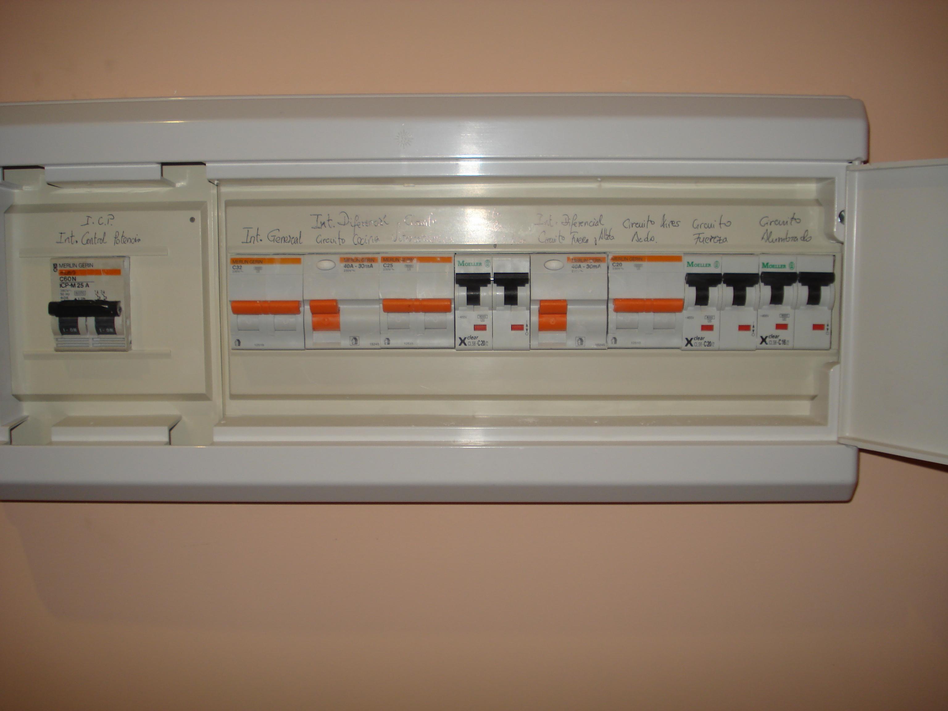 File:Cuadro de seguridad eléctrica en una vivienda.JPG - Wikimedia ...