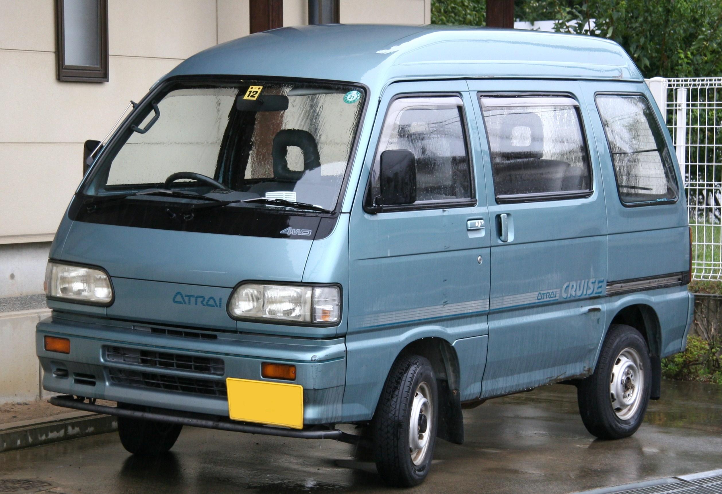 Suzuki Minivan Wd