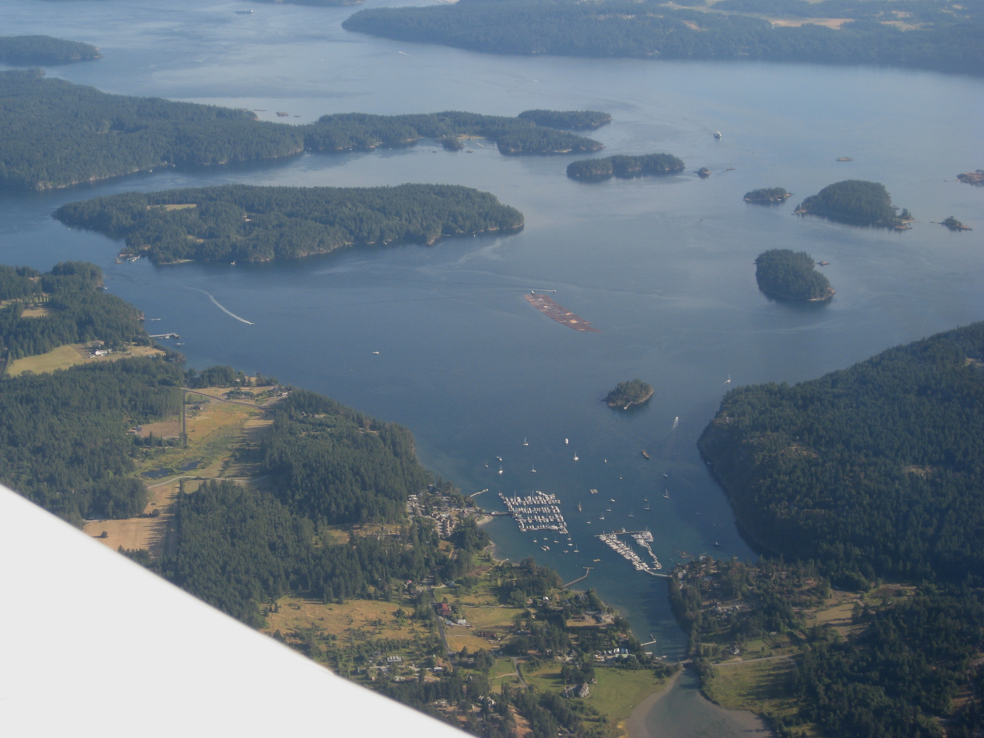 Orcas Island And Seattle Map