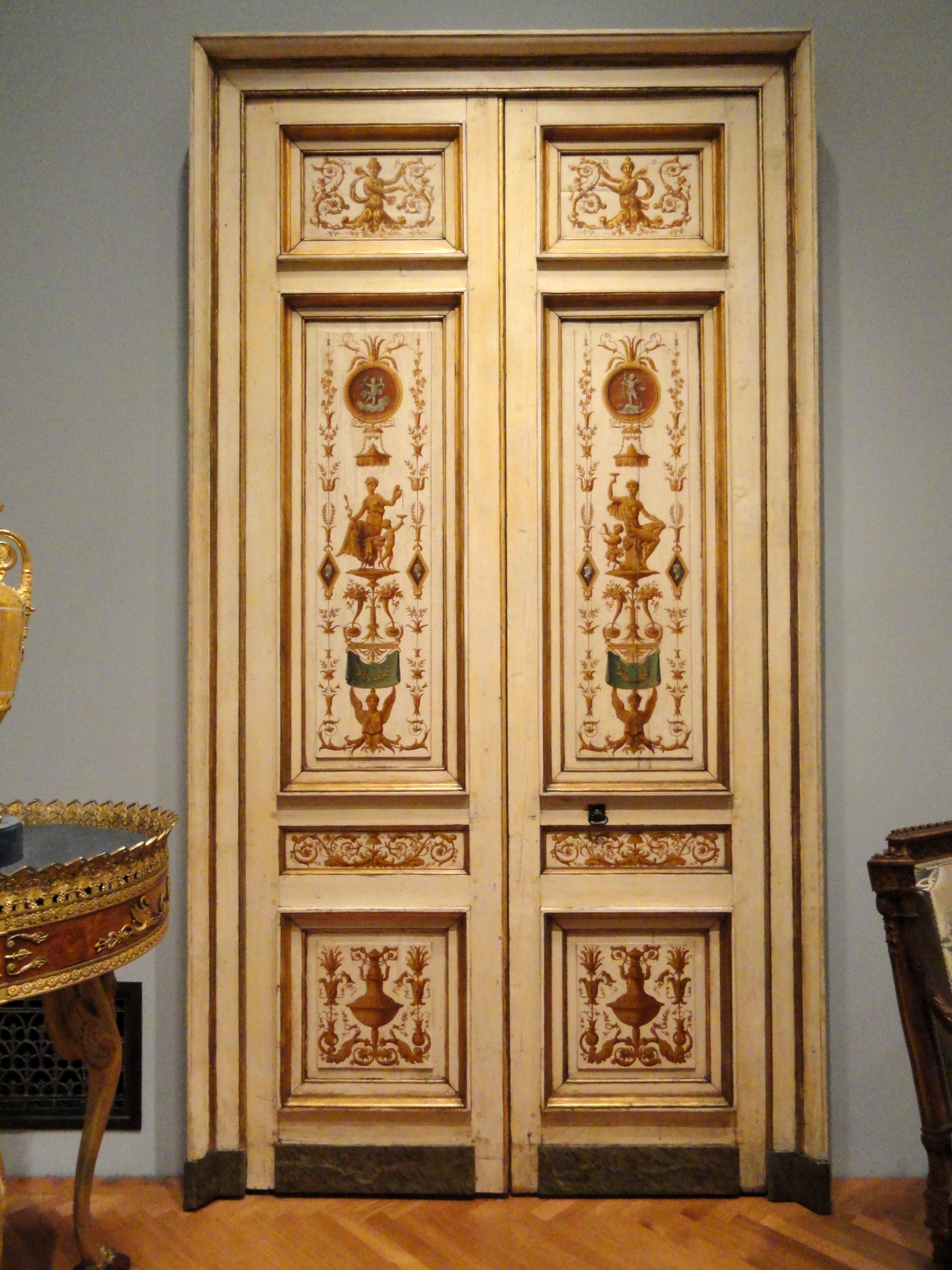 FileDouble-leaf Doors 1790s Pierre Rousseau France oil on & File:Double-leaf Doors 1790s Pierre Rousseau France oil on wood ...