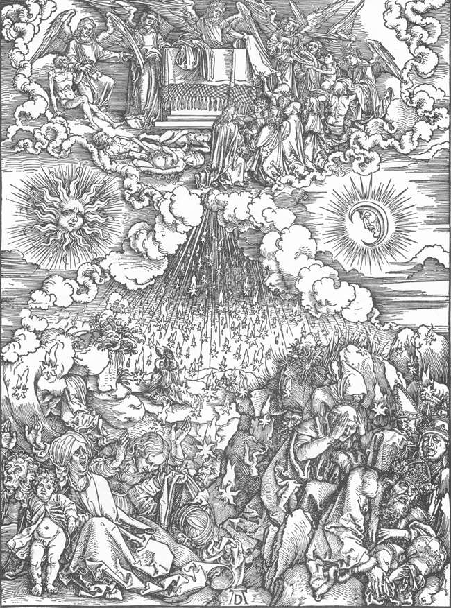 Larry Hunt Bible Commentary // Albrecht Dürer The Opening of the Fifth and Sixth Seal