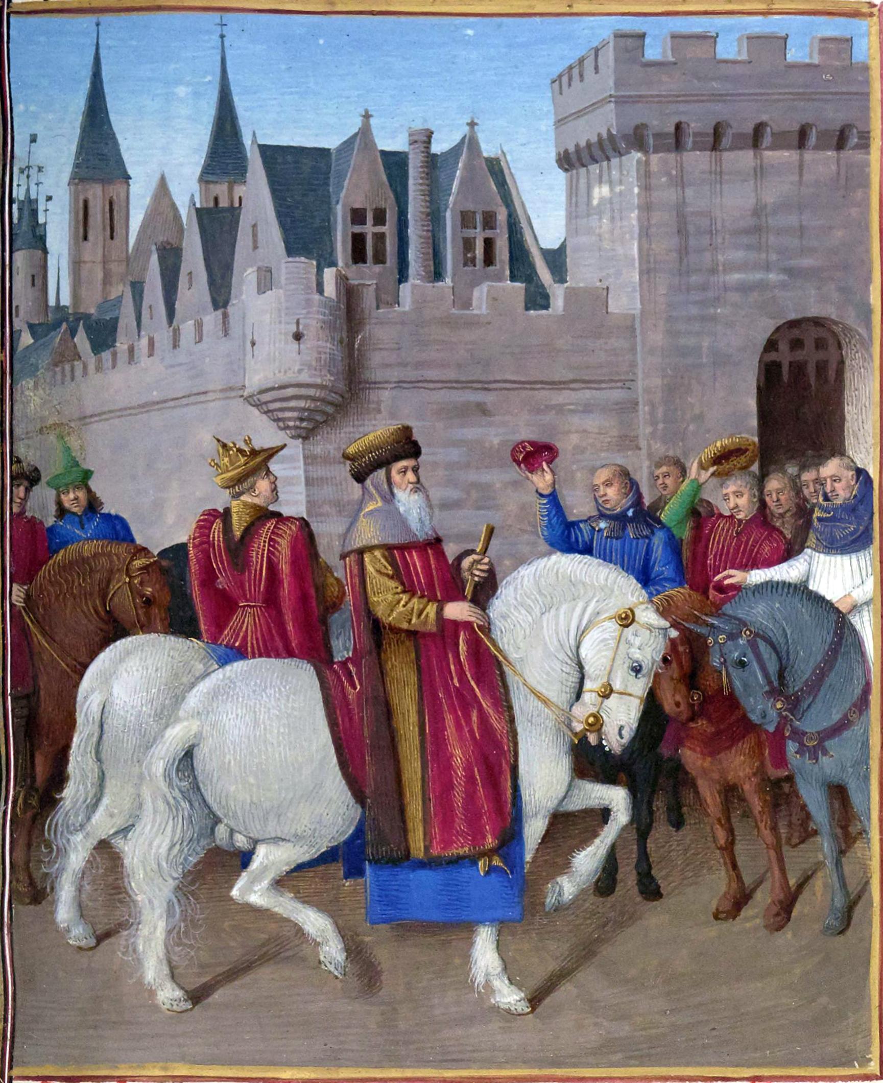 File entr e de l empereur charles iv wikimedia commons - Le roi du matelas cambrai ...