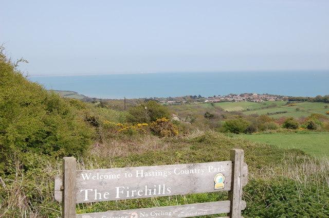 Fairlight firehills - geograph.org.uk - 789009