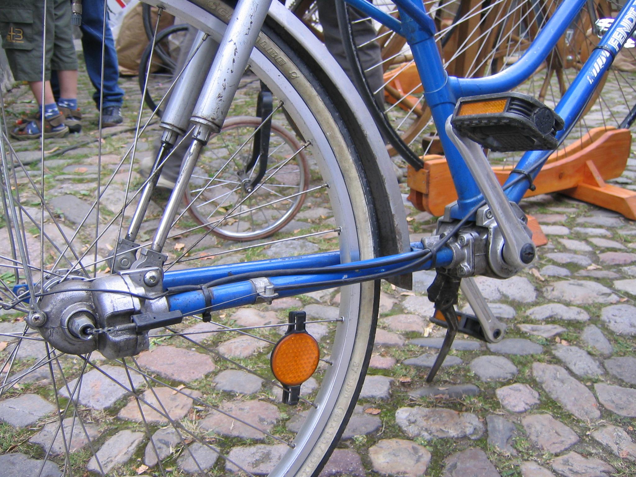 wie ist ein fahrrad aufgebaut