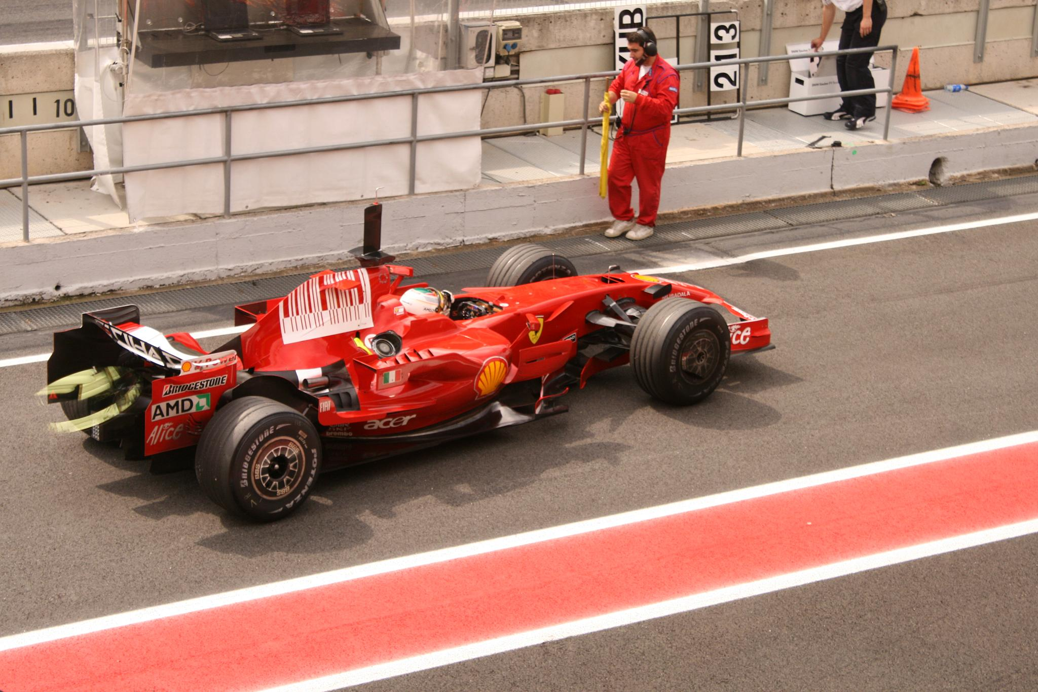Ferrari Formula  Car Cake