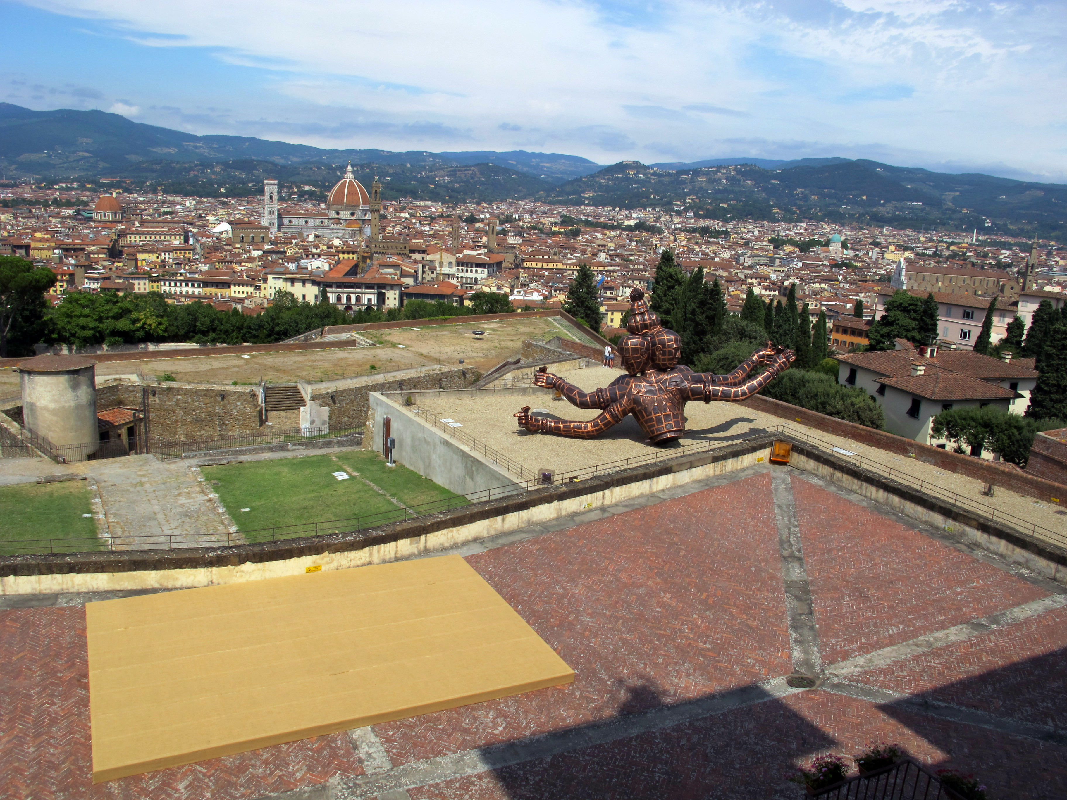 File Forte Belvedere Vista Su Firenze Dalle Terrazze 01 Jpg