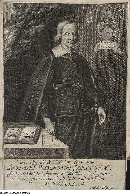 Portrait of Joseph Furttenbach