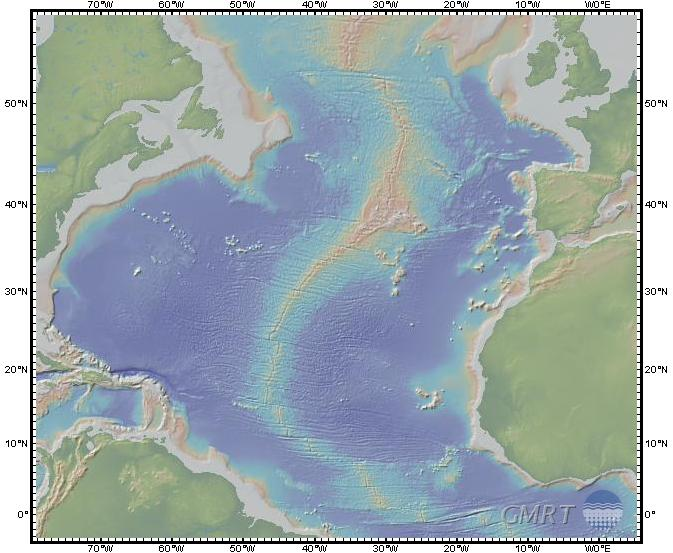 U.S. Navy hydrographic map
