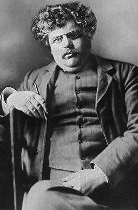 Gilbert Keith Chesterton im Jahr 1914