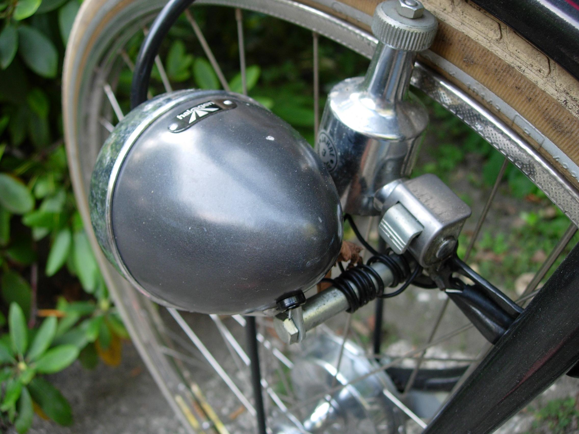 Image result for dynamo bike light