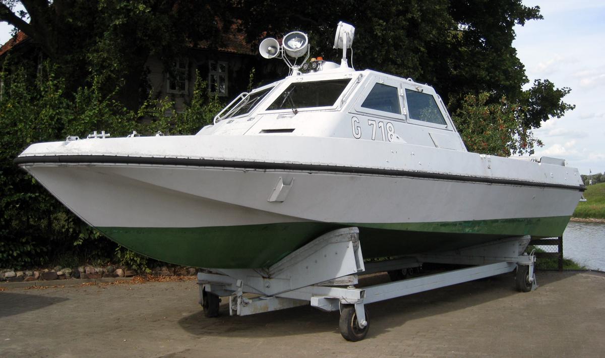 Gdr river patrol boat