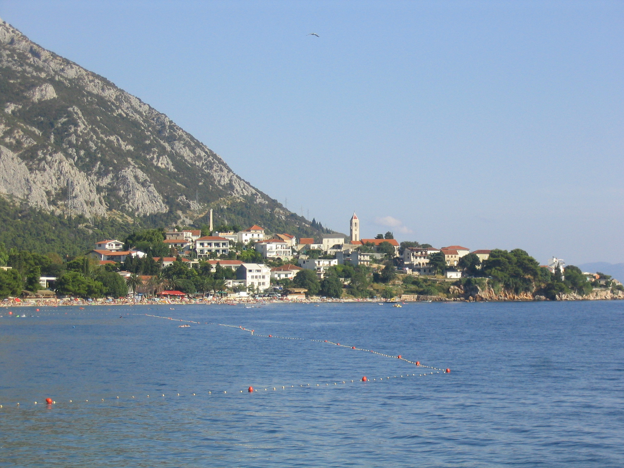 Carte Croatie Gradac.Gradac Split Dalmatie Wikipedia