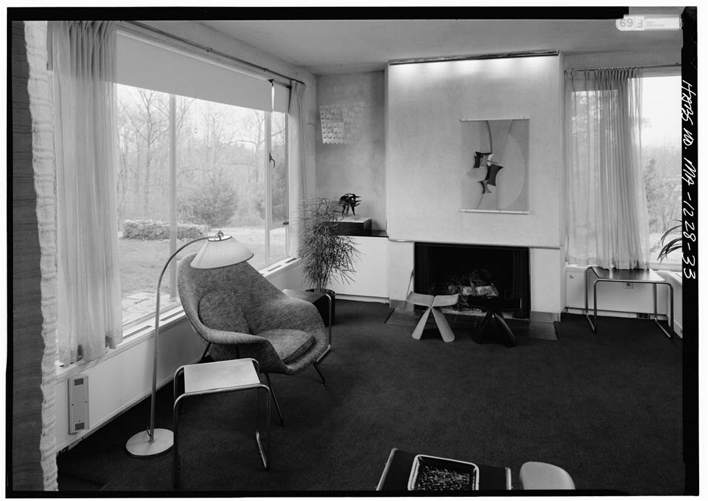 Bauhaus Living Room Style