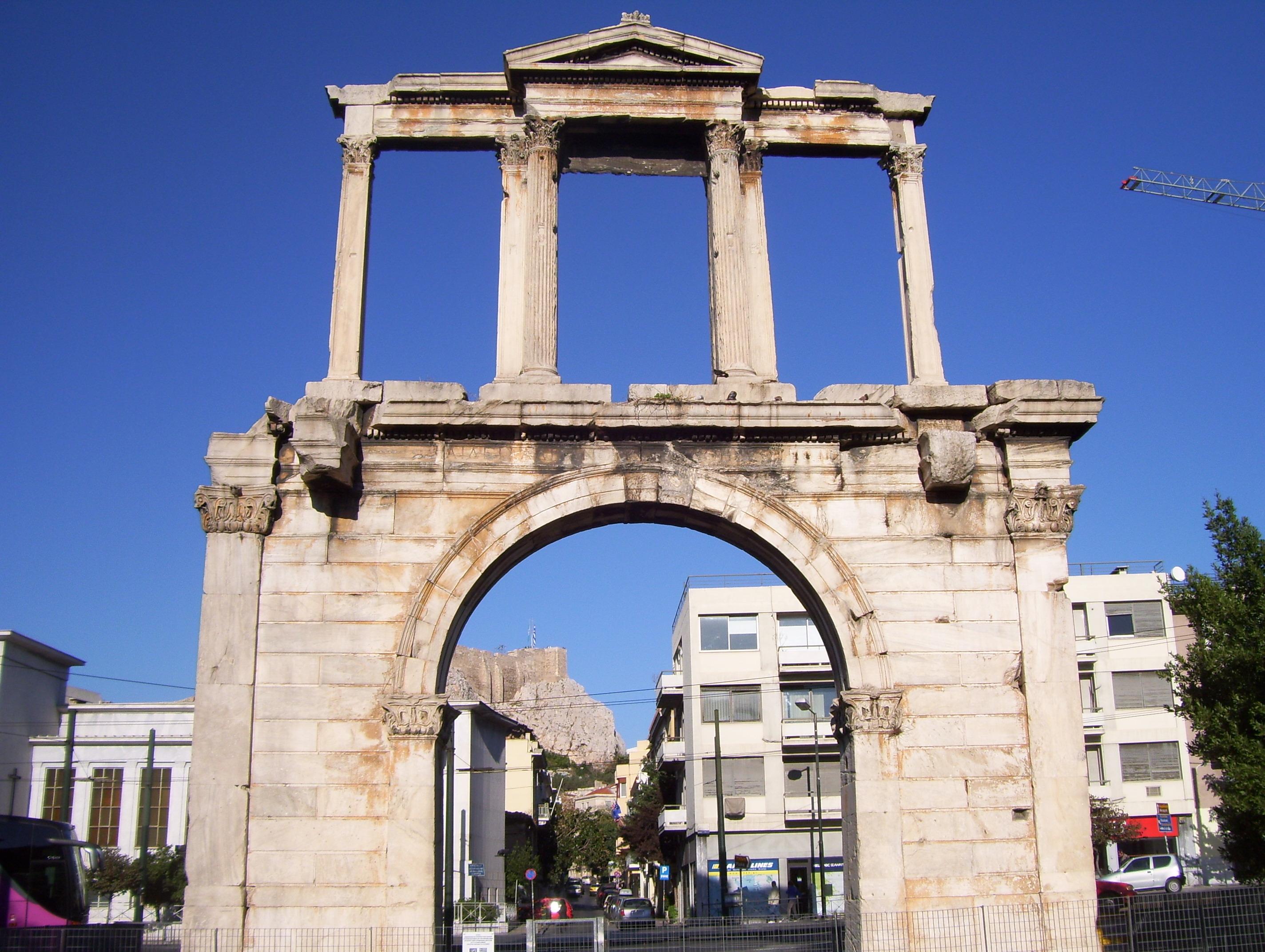 File:Hadrians Arch Greece.JPG - Wikimedia Commons
