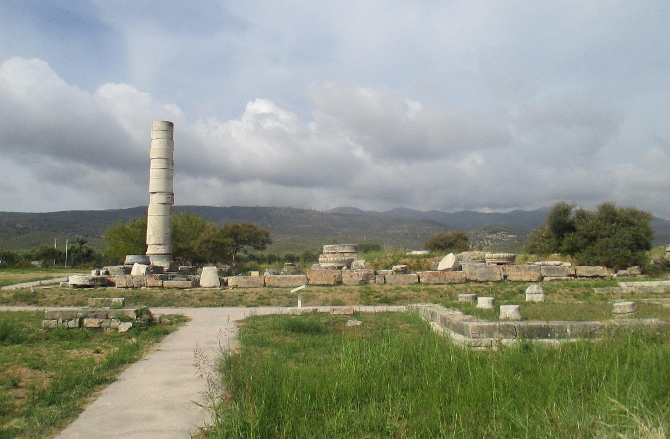 Heraion Of Samos Wikipedia
