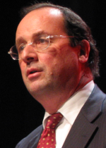 Photo de François Hollande, Premier secrétaire...