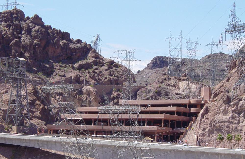 Garage dimensions - File Hoover Dam Visitors Center Jpeg Wikimedia Commons