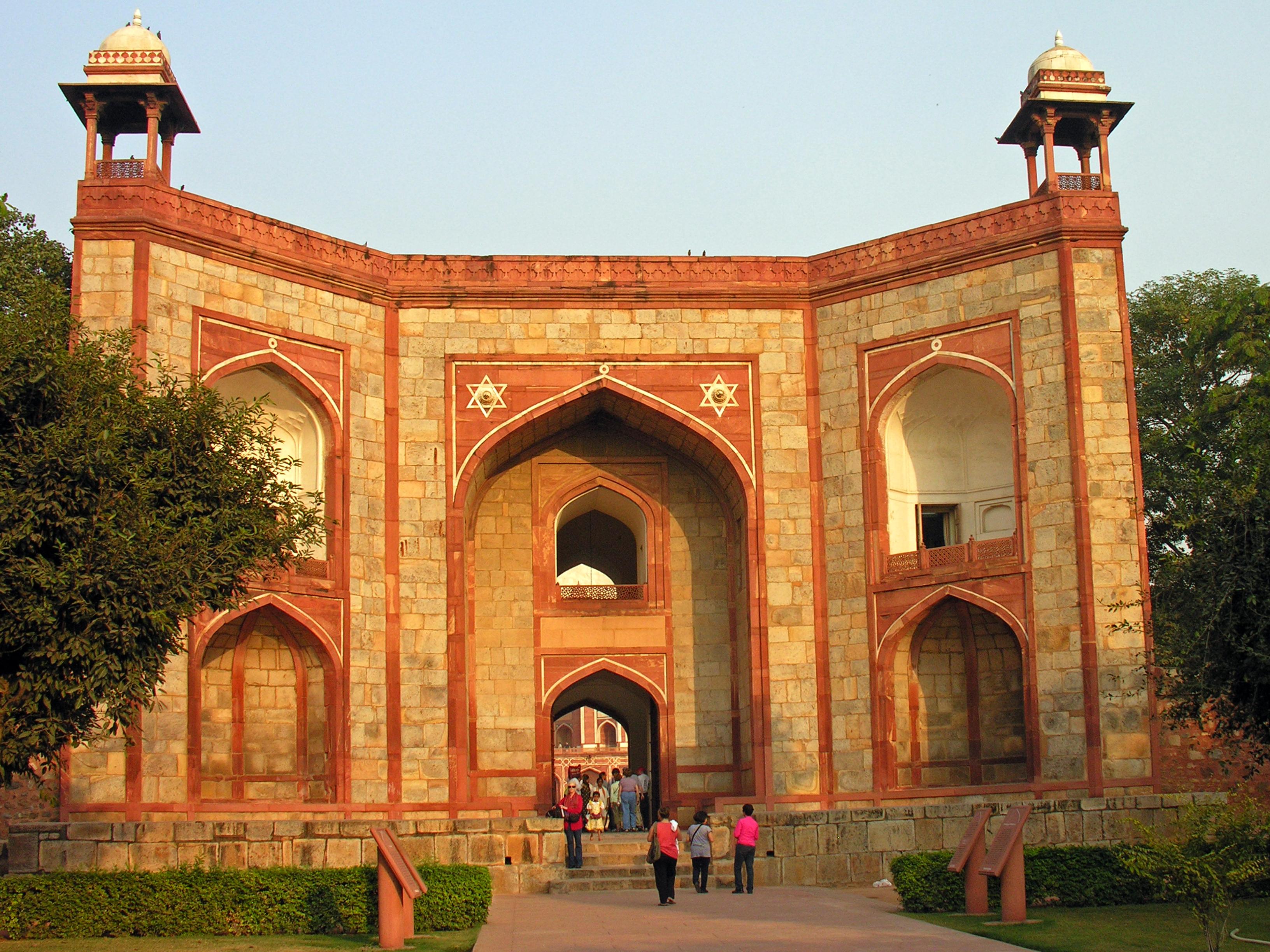 File Humayun Tomb Delhi Entrance To The Tomb Enclosure