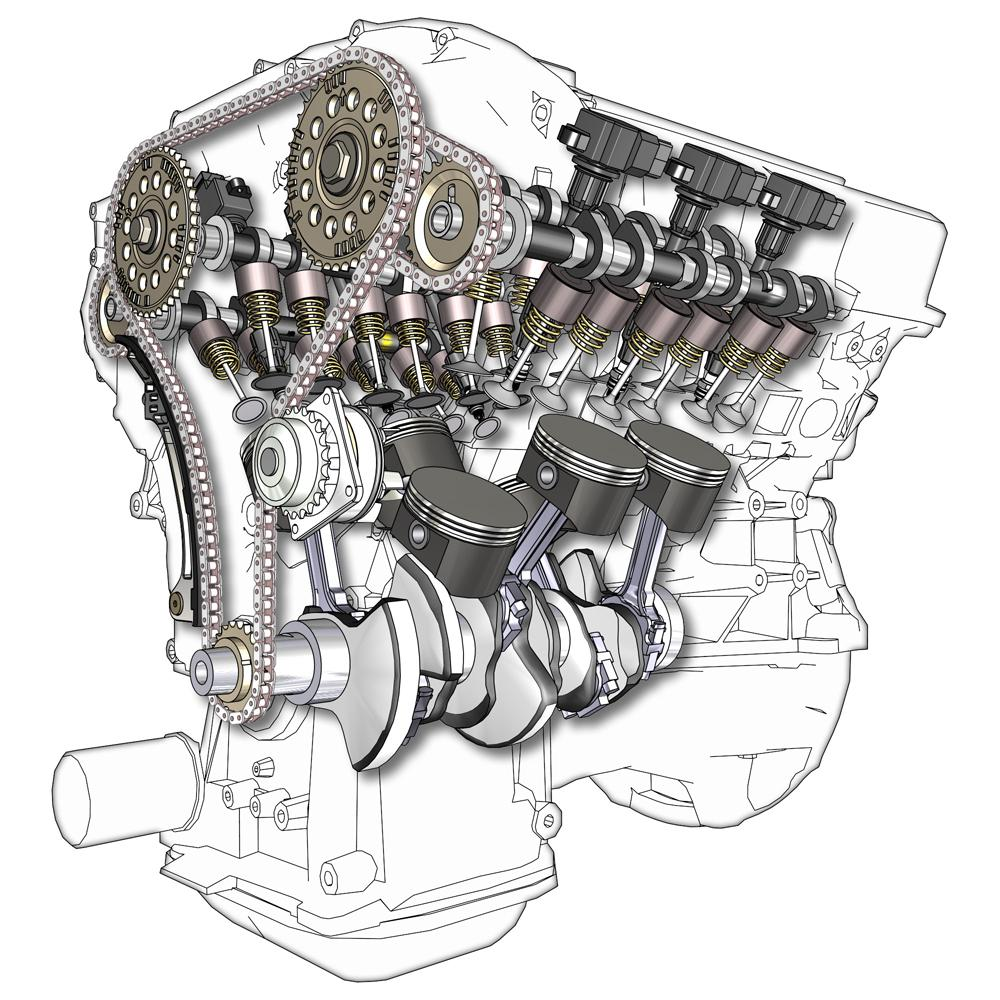 V6 engine - Wikipedia V4 Engine Diagram