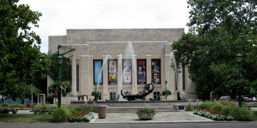 Indiana State University Fine Arts Building