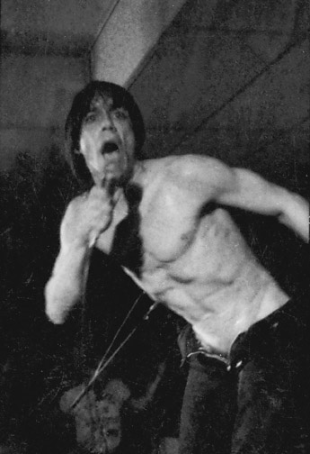 Iggy Pop al UC Davis Coffee House nel 1980