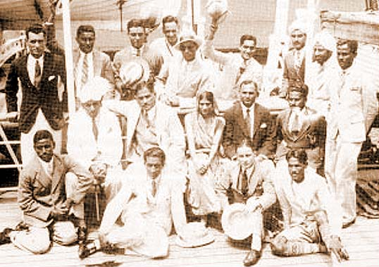 File:Indian hockey team en route 1932 Olympics.jpg