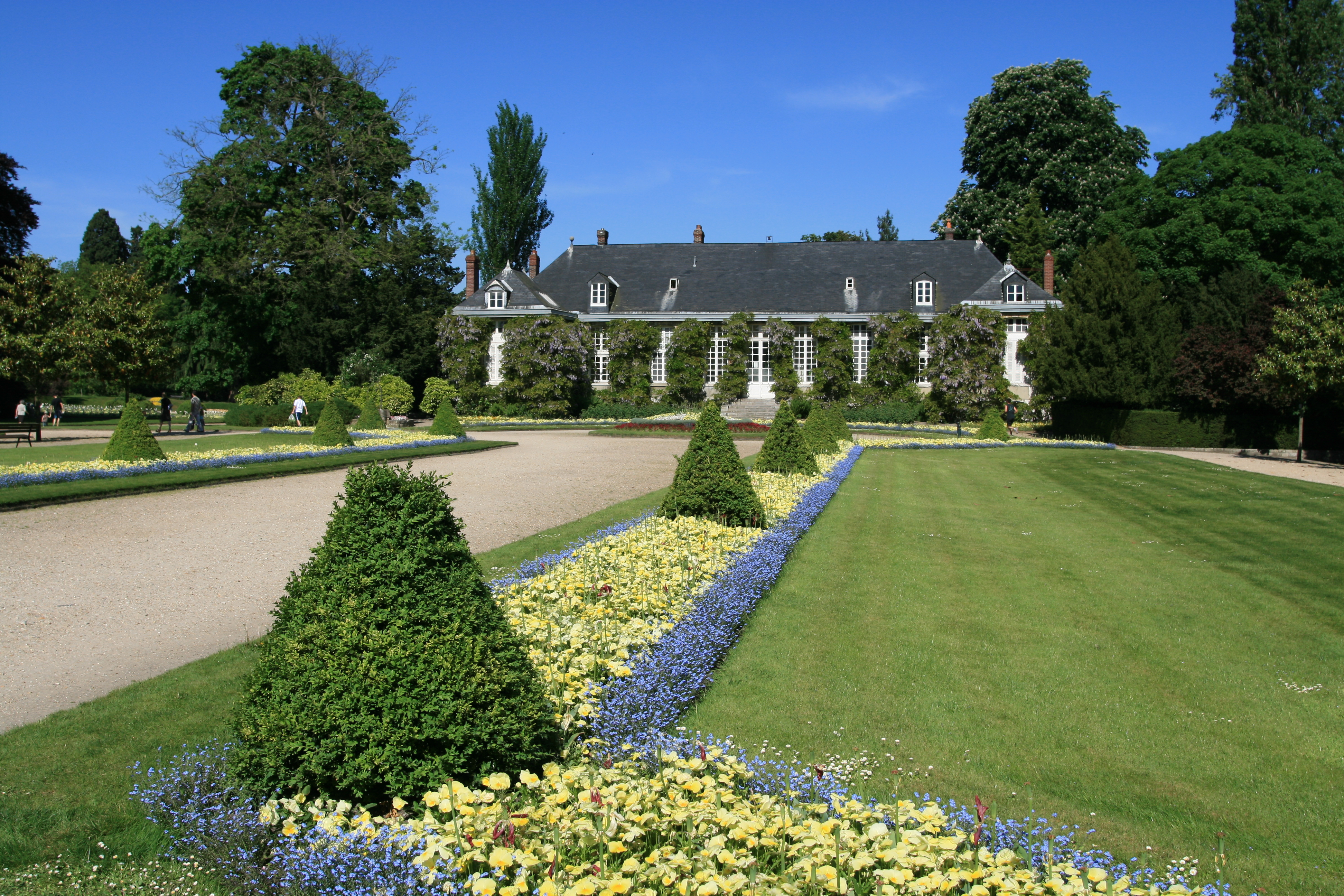 Jardin des plantes de rouen for Photos de jardin