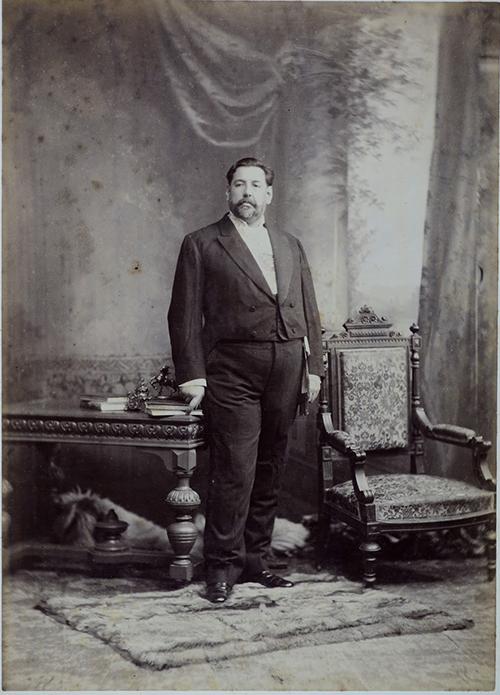 José Batlle y Ordóñez hacia 1900.
