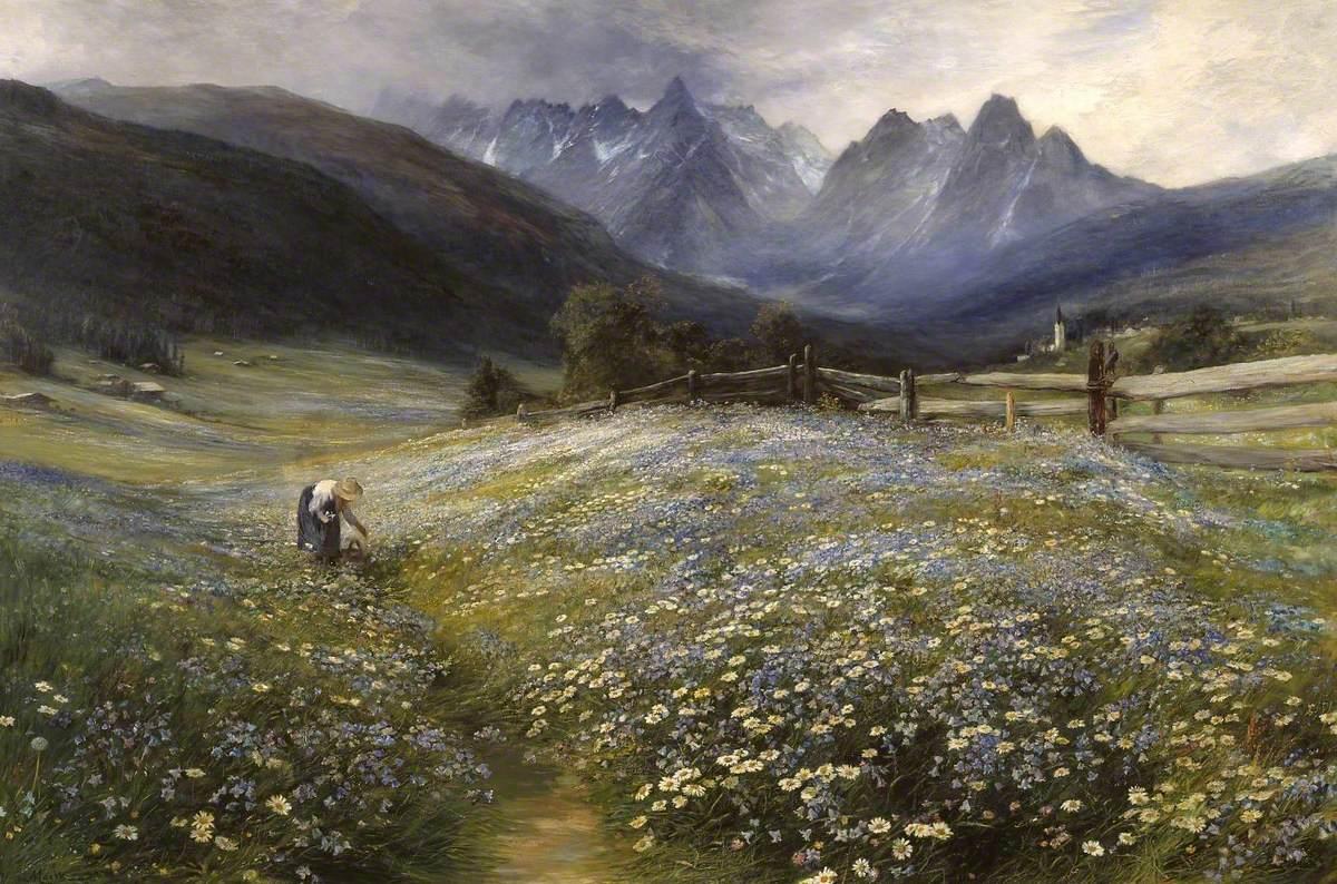 File:John MacWhirter (1839-1911) - June in the Austrian Tyrol - N01571 -  National Gallery.jpg - Wikimedia Commons