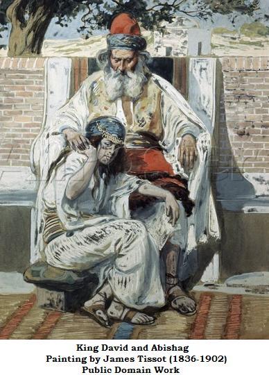 King David with Abishag