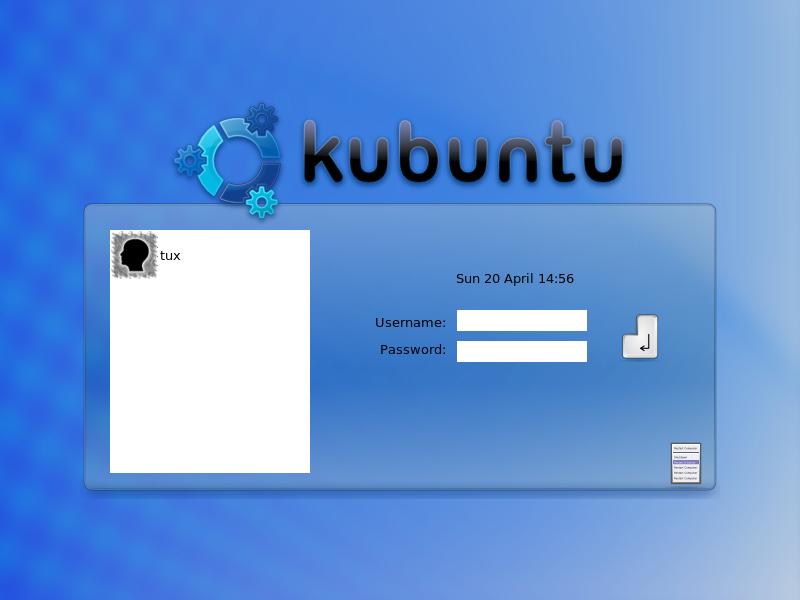 File:Kubuntu 8.04 login screen.png - Wikimedia Commons