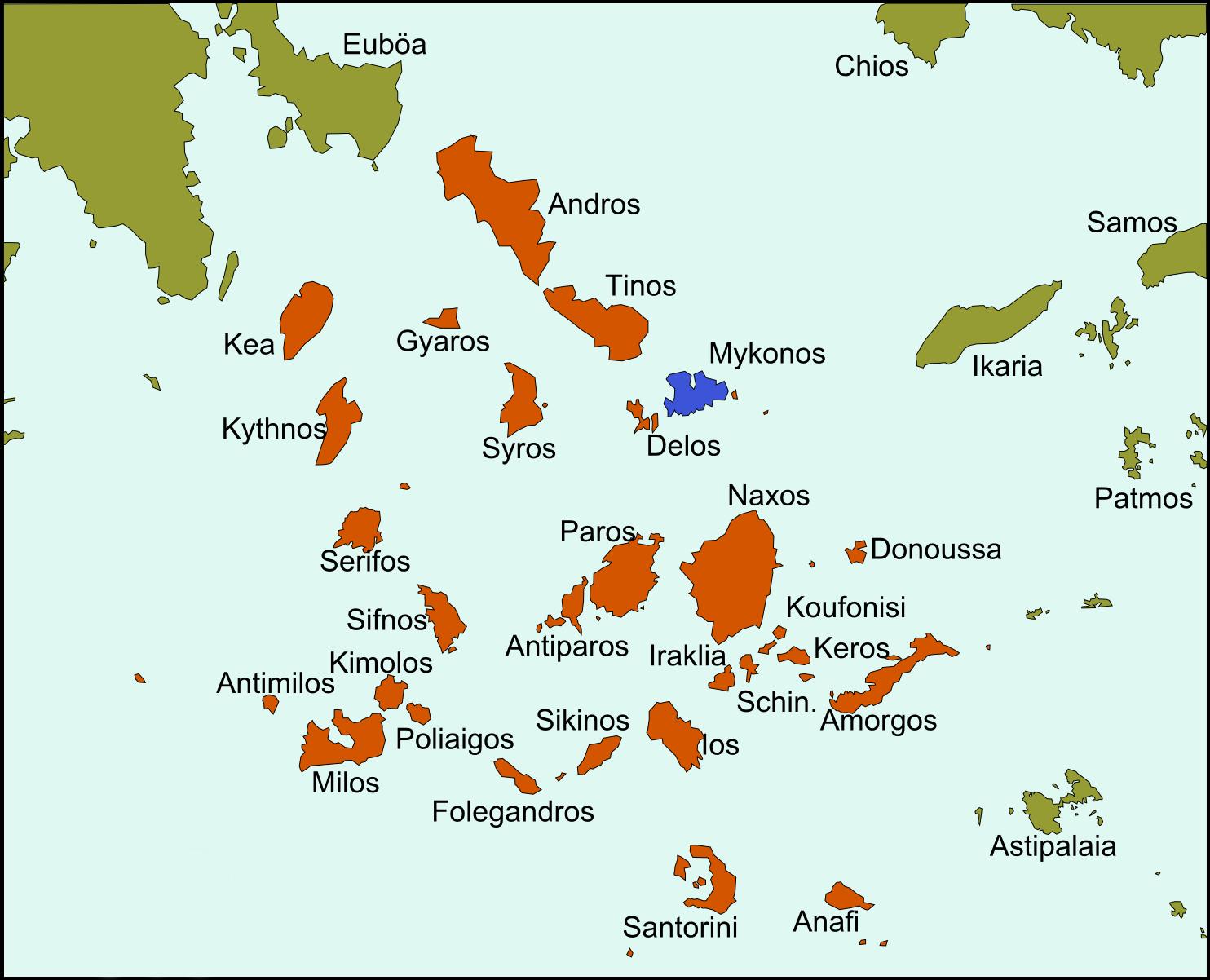 Karte Griechenland Mykonos.Mykonos Reiseführer Auf Wikivoyage