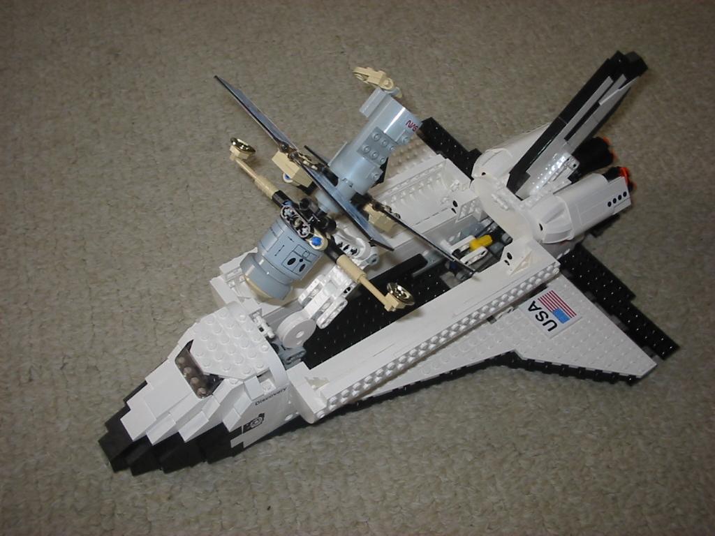 lego nasa space shuttle instructions