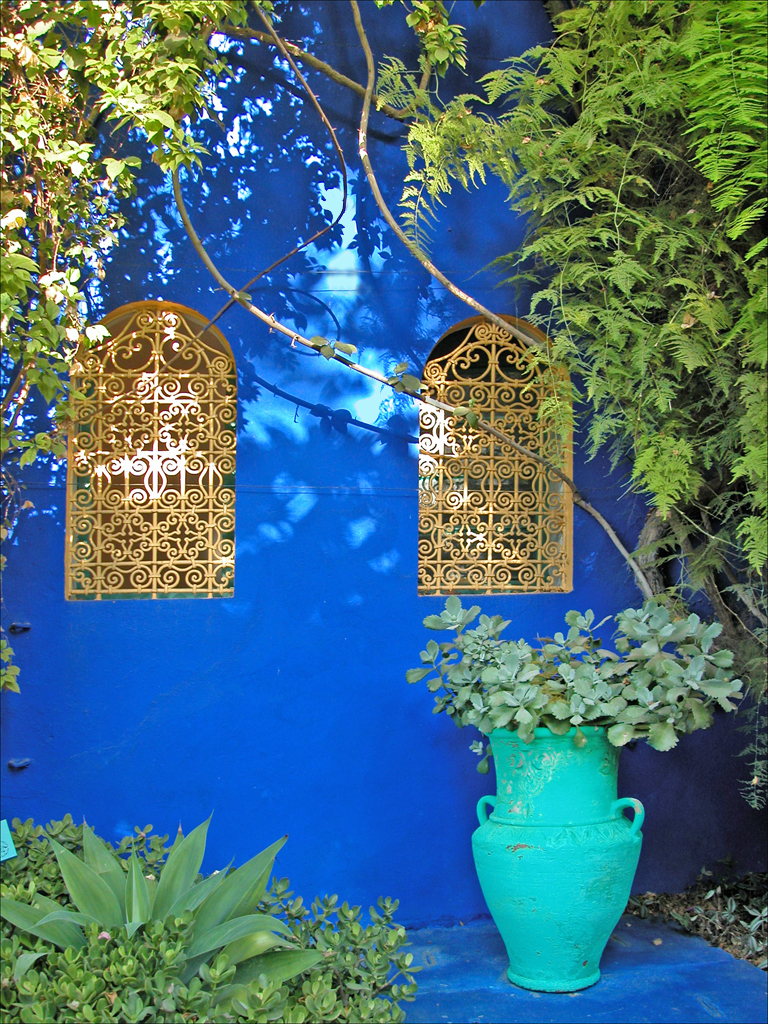 Image gallery majorelle marrakech for Villa des jardins marrakech