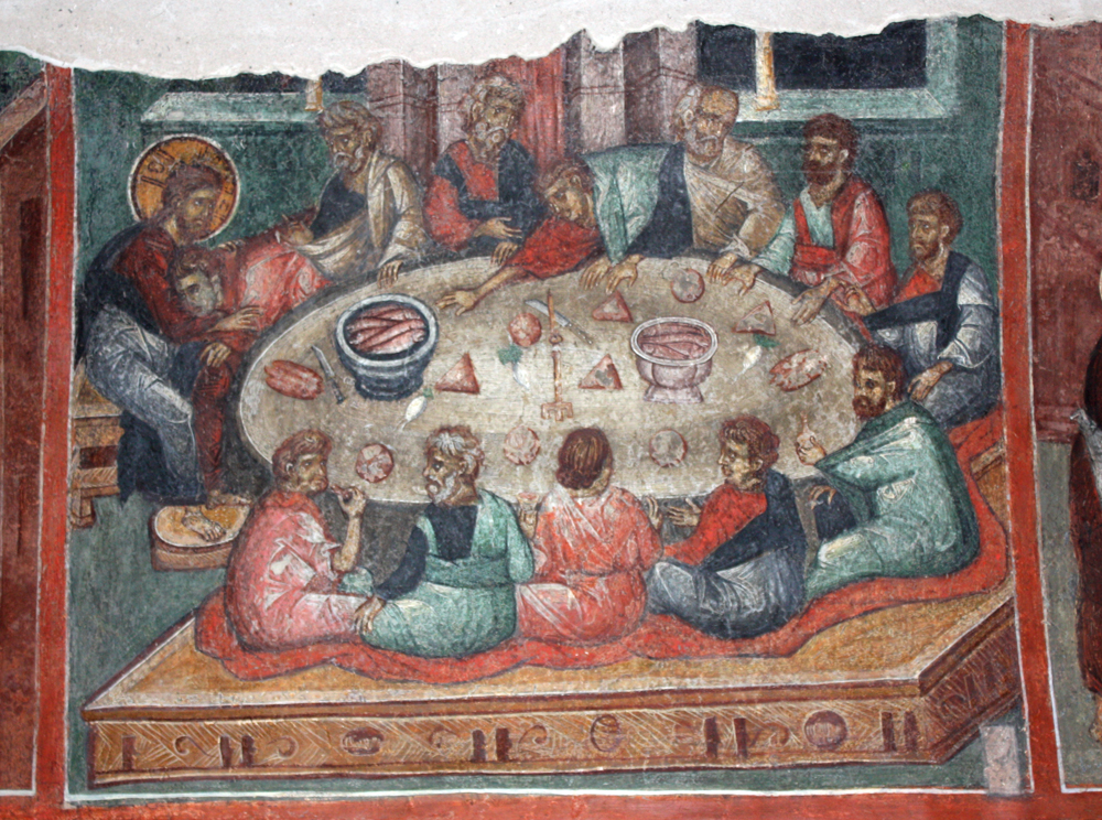 The last Supper dans images sacrée Last-supper-from-Kremikovtsi