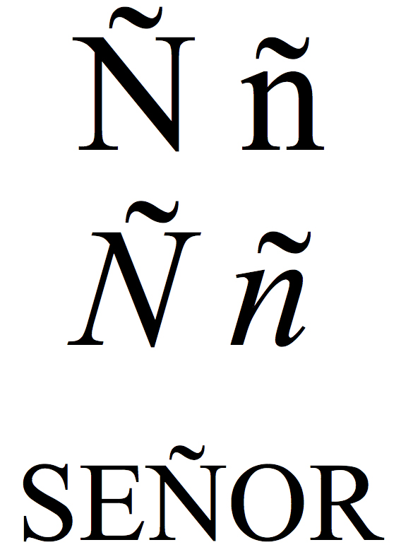 File:Latin small and capital letter n with tilde.jpg - Wikimedia Commons