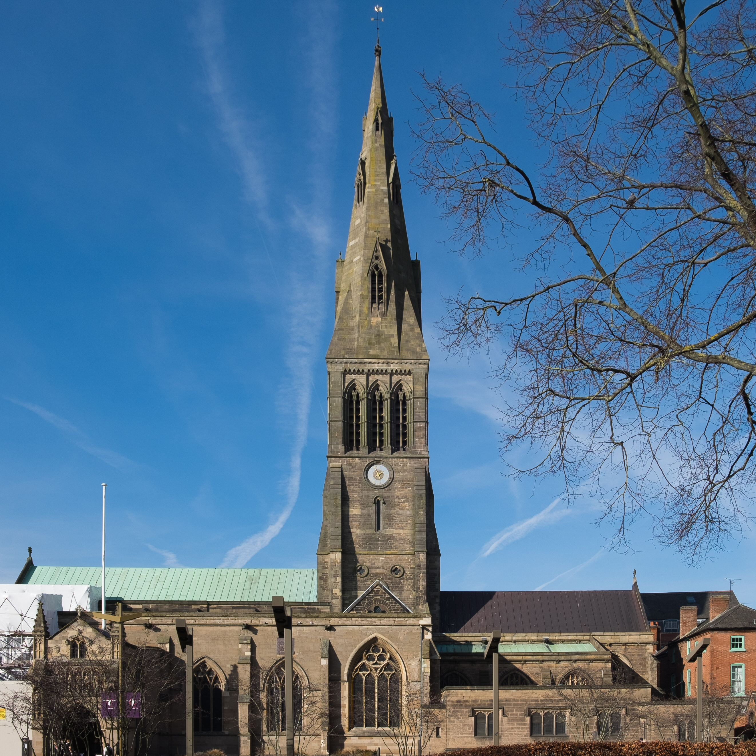 Last Days Of St Raphaels Cathedral >> Leicester Cathedral Wikipedia