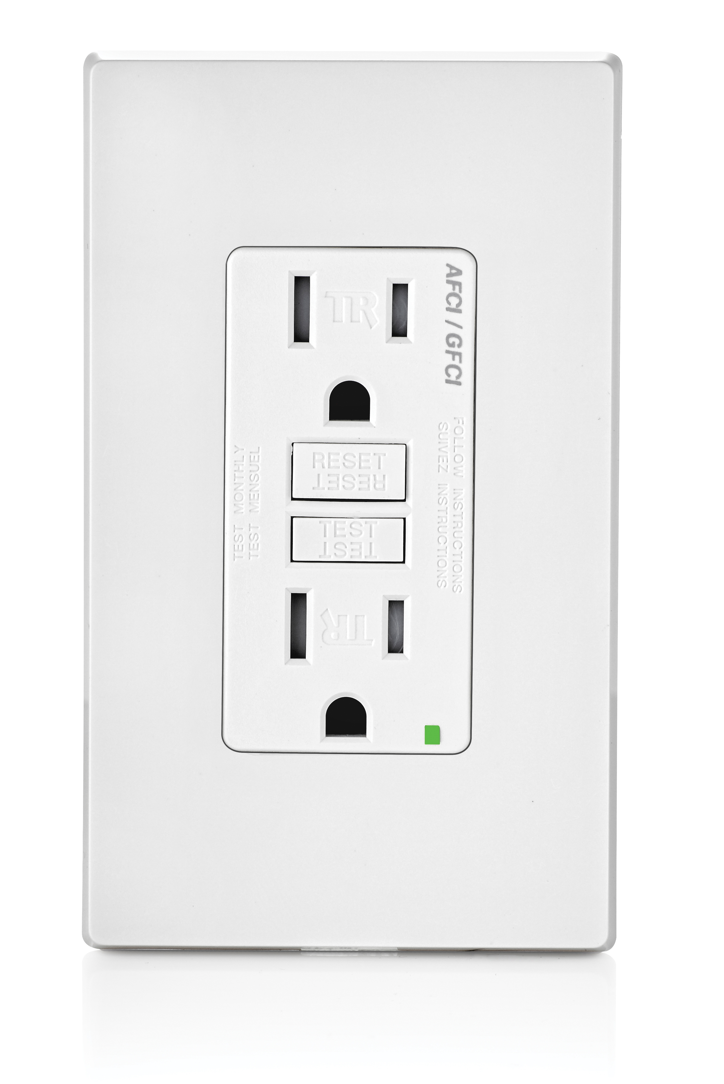 File:Leviton Dual Function AFCI GFCI Receptacle.jpg - Wikimedia Commons