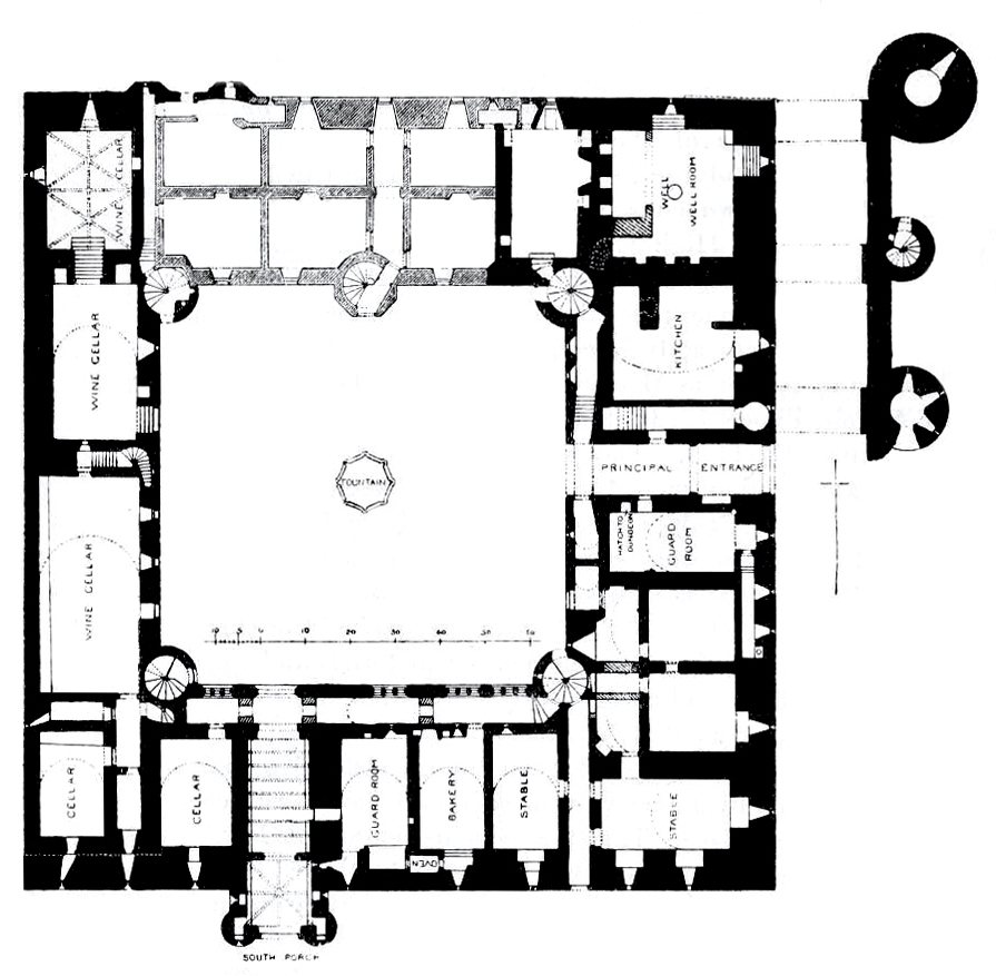 file linlithgow palace floor plan ground