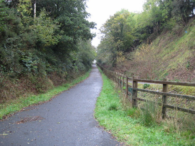 Lydford, The Granite Way - geograph.org.uk - 1020704