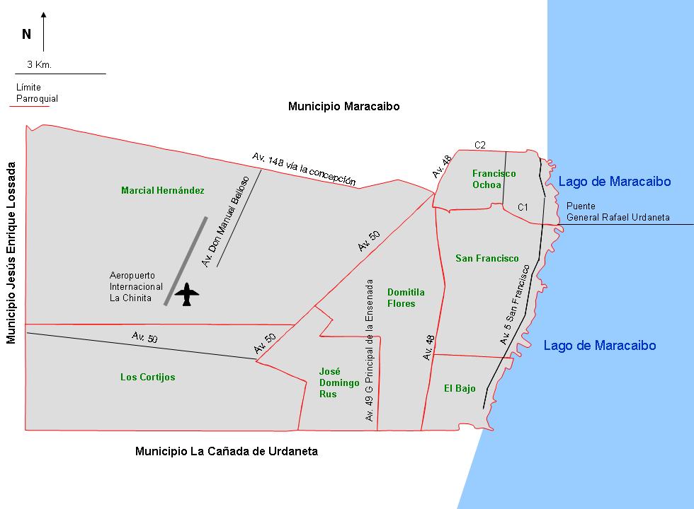 Mapa De San Francisco.Archivo Mapa San Francisco Parroquias Png Wikipedia La