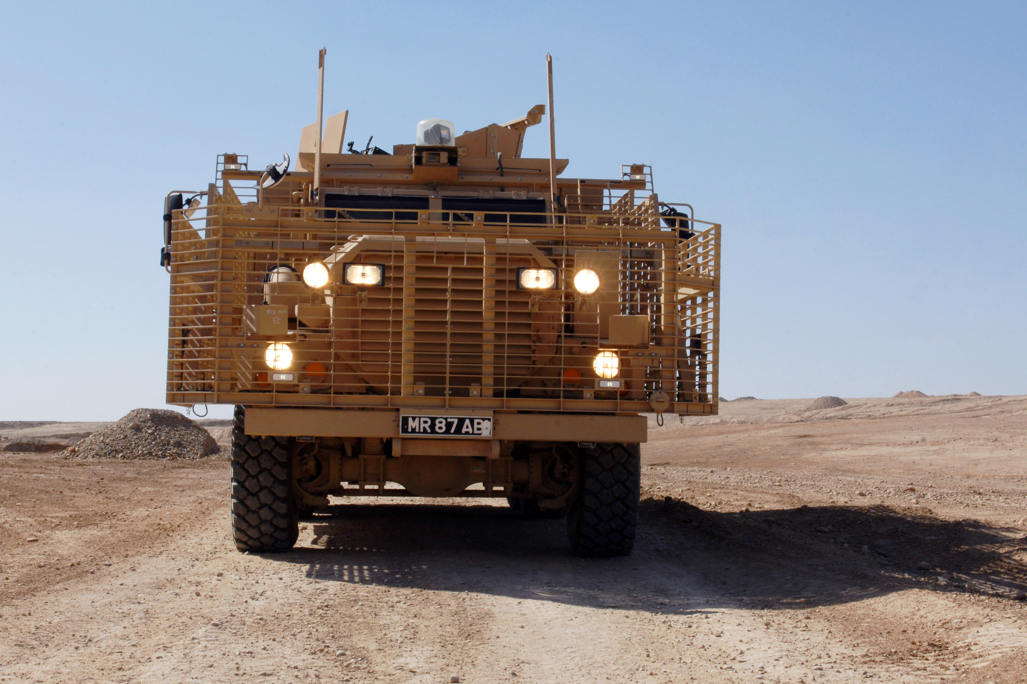 Mastiff 2 PPV protected patrol wheeled armoured vehicle Force ...