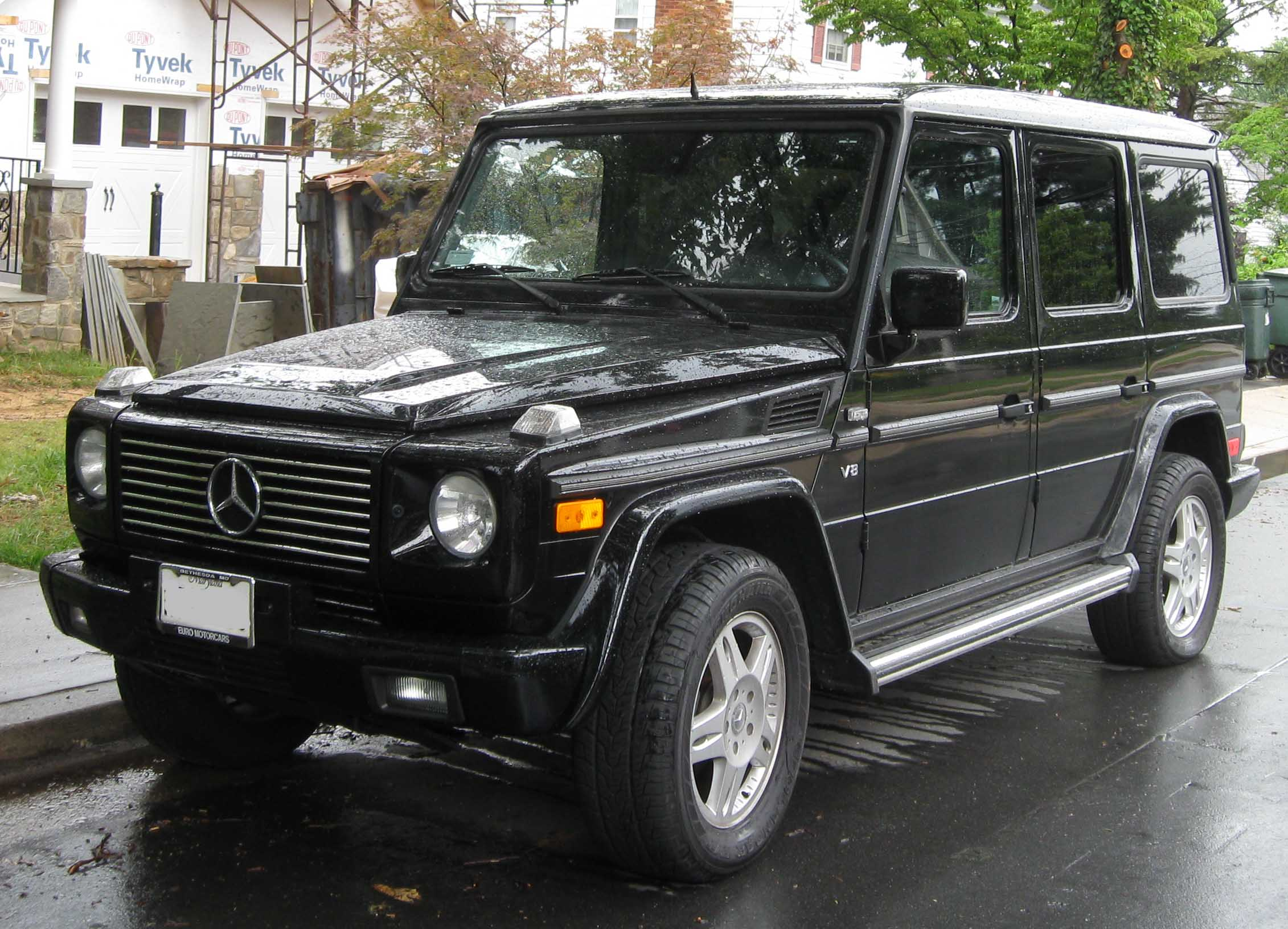 File mercedes benz wikipedia for Mercedes benz g class used 2003